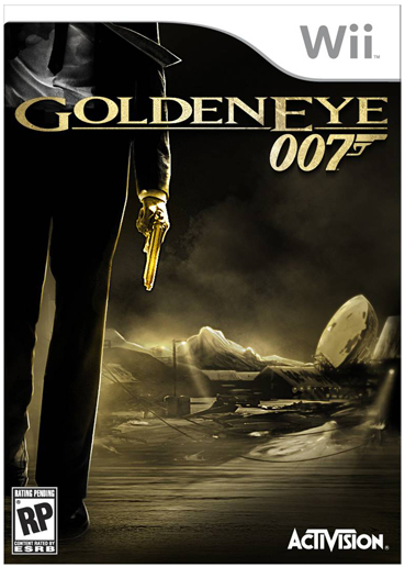 goldeneye wii game box